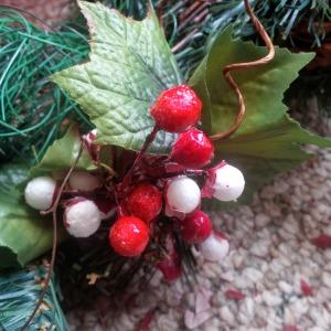 Xmas wreath DIY_close up