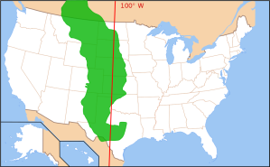 Map of Great Plains